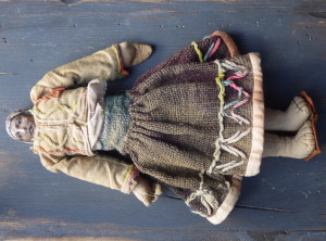Very Old Hand Made South American Doll
