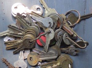 Large Group of Old Keys