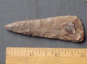 Thin Southwest Petrified Wood Blade
