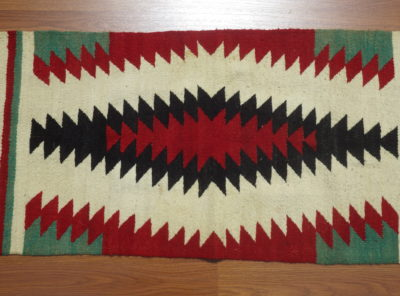 Native American Indian Saddle Blanket