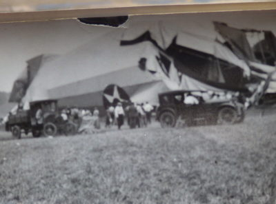 Shenandoah Zeppelin Crash Photographs 1925