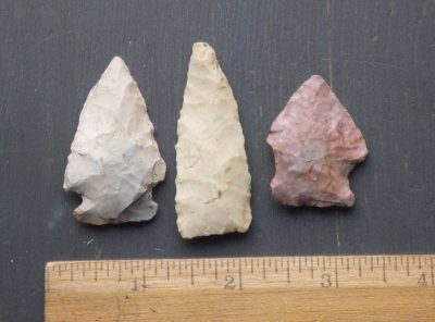 Native American Indian Arrowheads